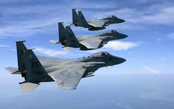 истребитель, орлан, tactical, американский, mcdonnell, douglas,  f-15,
