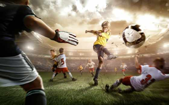 футбол, детский, ни