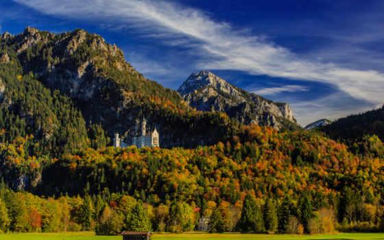 нойшванштайн, бавария, castle