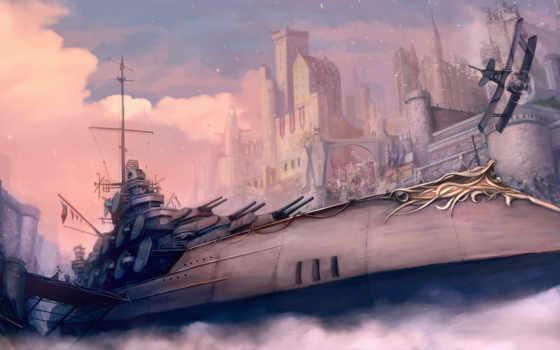 fantasy, корабль, коллекция