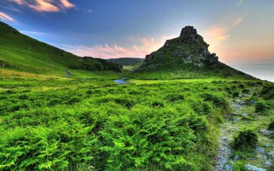 exmoor, hills, страница, множество, actualité, daech, rocks, kingdom, united, долина,