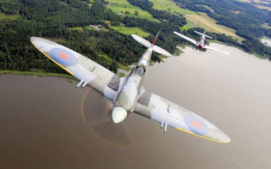 war, thunder, spitfire, истребители, fighters, полет, полете, истребитель, desktop,