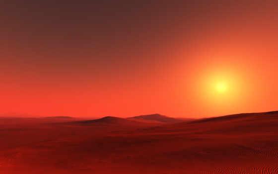 ecran, пустыня, fond, fonds, paysage, images, midi,