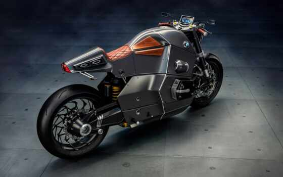 bmw, гонщица, urban, мотоцикла, concept, мар,