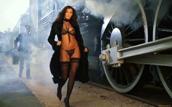 devushki, девушка, чулках, steam, поезд, lady, паравоз, красивые, девушек, aleksey,