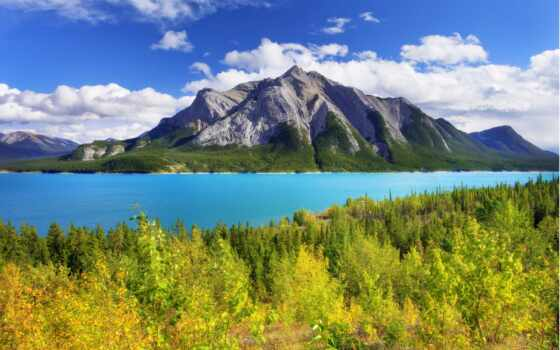 природа, озеро, гора, park, лес, яркий, работать, пейто, kevin, wild, maknit