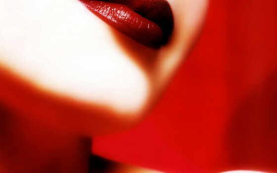 губы, red