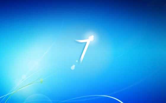 blue logo windows se7en