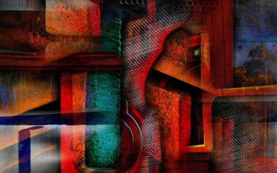 grunge, art, abstrakciya