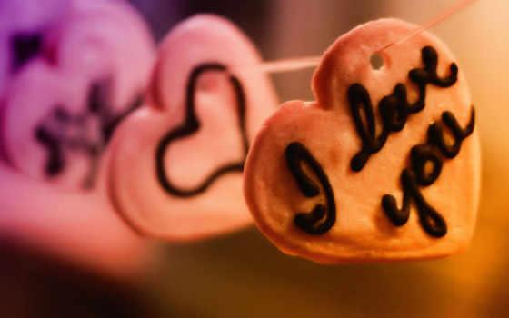 сердечки, sweets, love