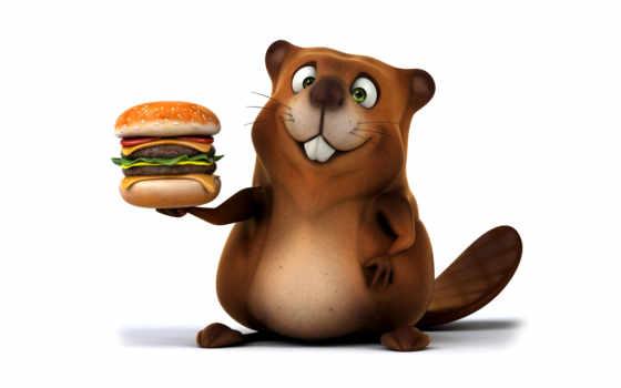 png, бобр, бобра, size, стоковое, реактивный, скидки, гамбургер, зд, иллюстрации,