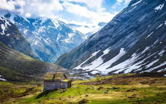 горы, горные, заставки, снег, природа, foot, горах,
