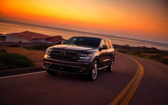 dodge, durango, angle, front, new,