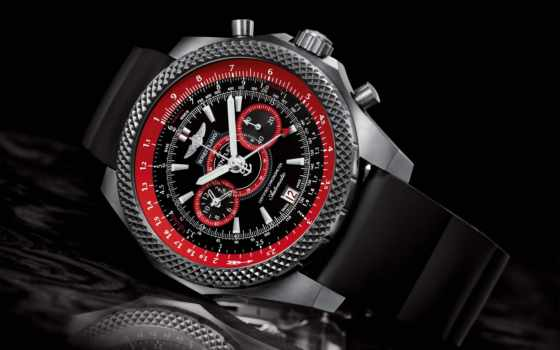 breitling, bentley, часы