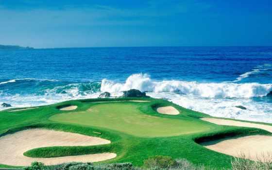 golf, курс, desktop