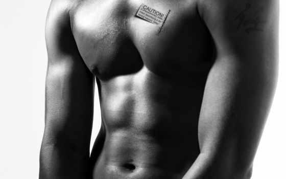 торс, мужчина, тело