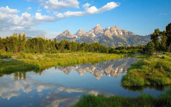 сша, priroda, ozero, reka, пейзаж, montañas, montana, glacier, горы,