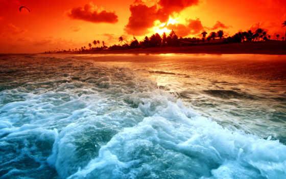 море, красивые, waves