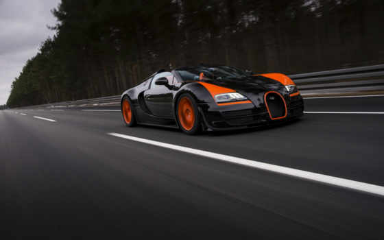 bugatti, veyron, grand, спорт, vitesse, fondos, car,