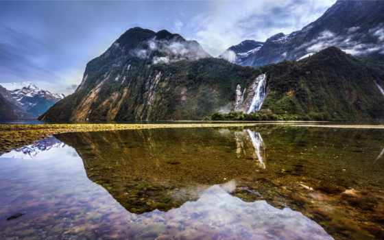 trey, ratcliff, reflections, milford, sound, flickr, zealand, photography, new, фото,