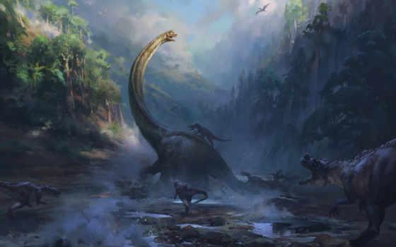 динозавр, art, community, numa, reptile, wild, природа, drawing, more, аватар