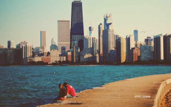 chicago, высотки, michigan