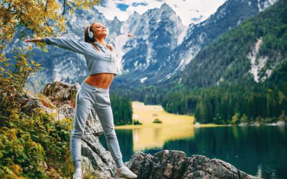 фитнес, mount, listening, pleasant, всем, телефон, mobile, scenery, free