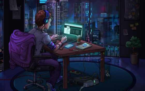 хакер, интернет, world, volzhsk, ночь, ahtuba, средний, сервис, компьютер, fantastic