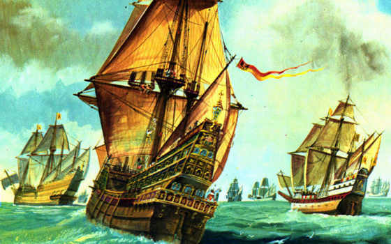 ships, sail