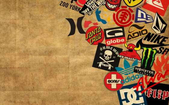 skateboard, logos, art, ipad,
