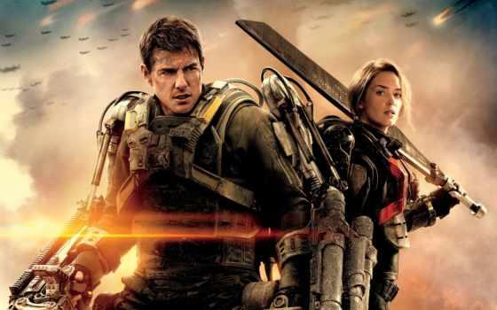 года, глаза, будущего, фильмы, фильма, fantastic, edge, tomorrow, cruz, боевик, сниматься,