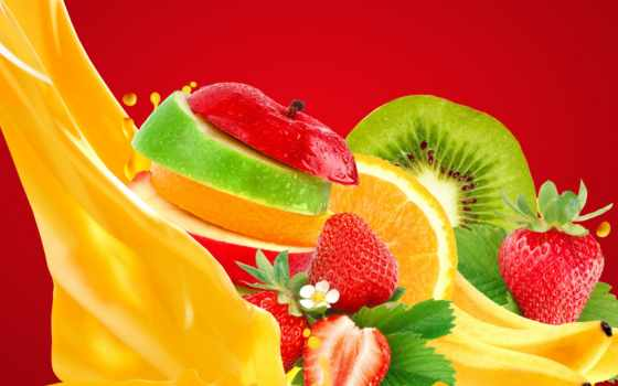 juice, фрукты, ягоды, картинка, плод, canvas, еда, rub, напитки, фотообои,