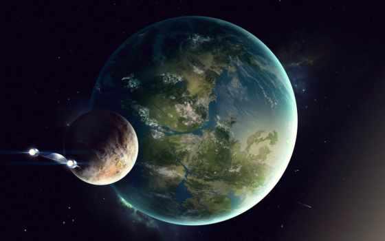 космос, out, art, хосе, terran, planet