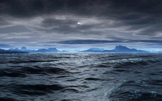 water, небо, природа, ocean, море, под, температура, air, high, land