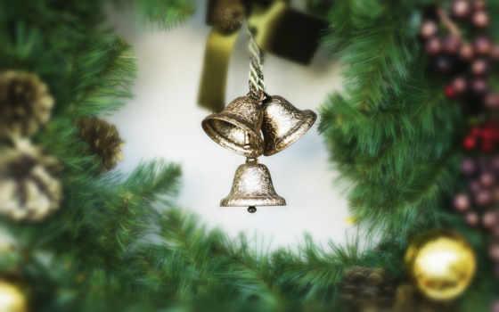 год, новый, праздник, christmas, новогодние, колокольчики, декорации, happy, windows, con, chuyển, festival, bells, download, small,