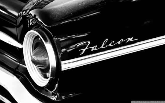 ford, falcon, black