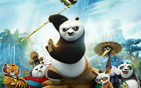 кунг, панда, boo Фон № 125933 разрешение 1920x1200