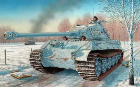 тигр, танк, ausf, heavy, pzkpfw, рисунок, sd, kfz,