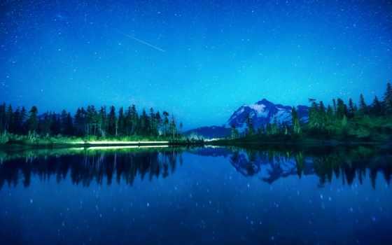 озеро, lakes, scn, ночное, definition, high, фотообои, desktop, фотопанно,