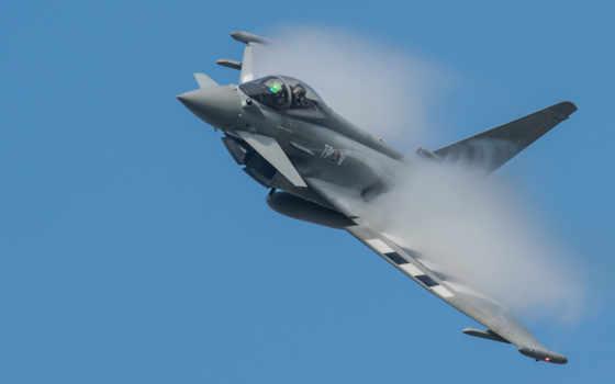 typhoon, eurofighter, истребитель, самолёт, iphone, desktop,