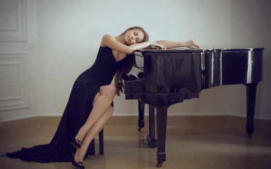 piano, рояля, музыка, девушка, близко, youtube, жене, утренняя, free,