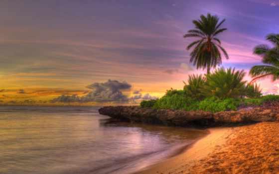 небо, пляж