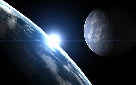 planet, earth, космос