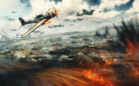 thunder, war, gaijin
