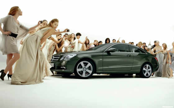 mercedes, class, coupe, benz, devushki, bens, мерседес, black,