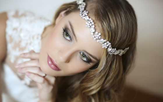 макияж, глаз, свадебный, макияжа, красивый, невесты, зелёных, тени, маленьких, коллекциях, яndex,