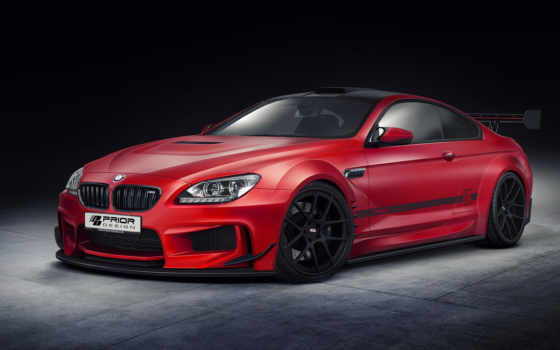 bmw, тюнинг, coupe, prior, design, авто, red,