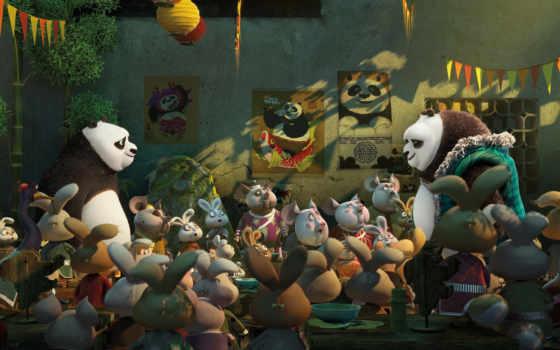 кунг, панда, boo Фон № 120518 разрешение 2880x1800