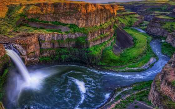 falls, palouse, водопад, fresh, desktop,