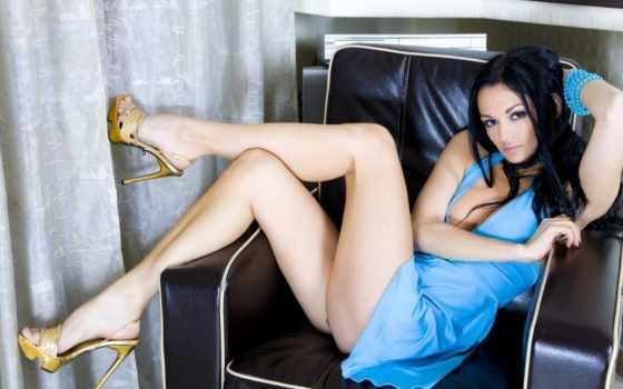 ножки, devushki, голубое, платье, картинкой, страница, девушка,